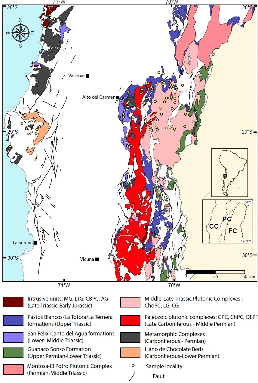 Geochemistry of Permian to Triassic igneous rocks from northern ...