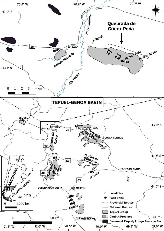 Carboniferous Deposits Of Northern Sierra De Tecka Central